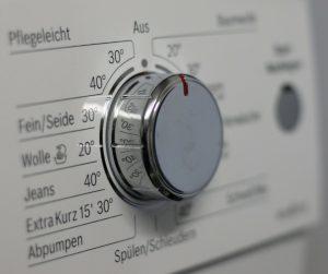 Waschmaschinen-Knopf