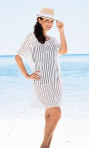Fashionable and cute beach dress with net from Anita Care