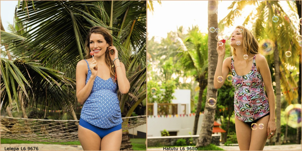 cute Tankinis for expectant moms during maternity and pregancy to go swimming from Anita maternity
