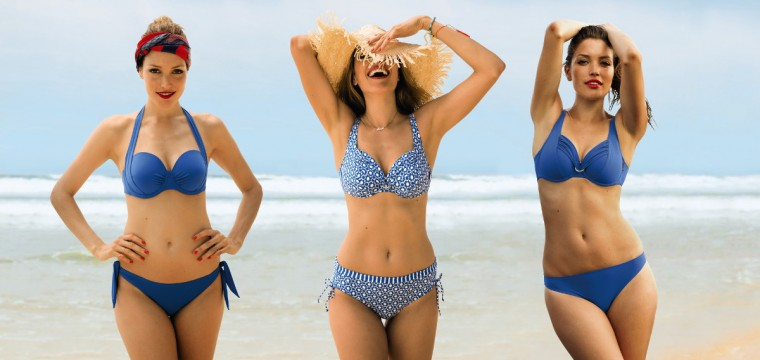 The anita Mix and match program allows to mix any top and bottom style within to create your own bikini look