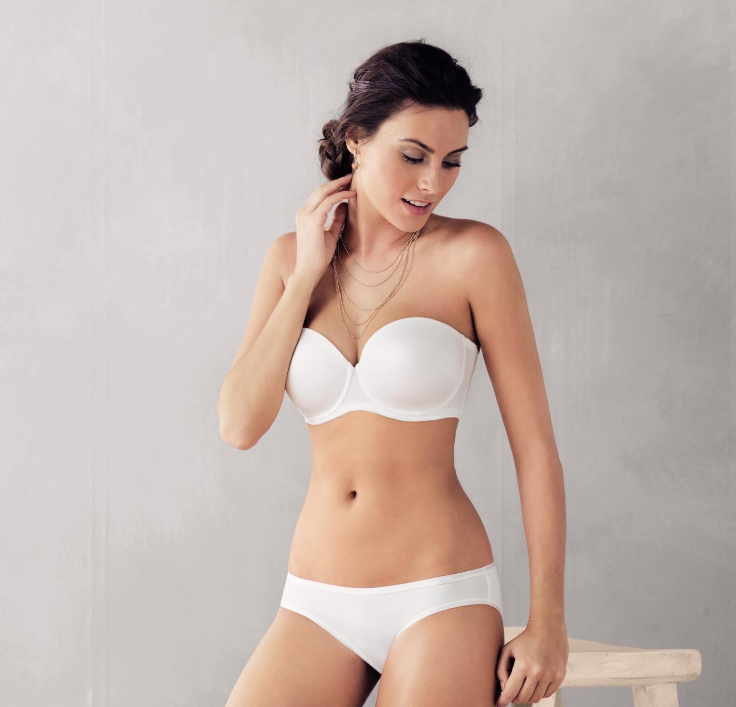 White multiway bra