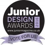 ANita maternity chosen for the junior design awards