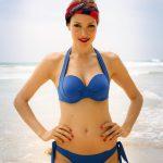 blue multiway bikini
