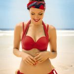 red multiway bikini from rosa faia