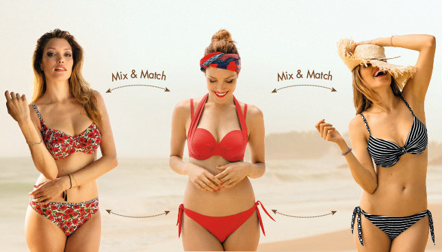 Mix and Match Bikinis Swimwear Urban Outfitters