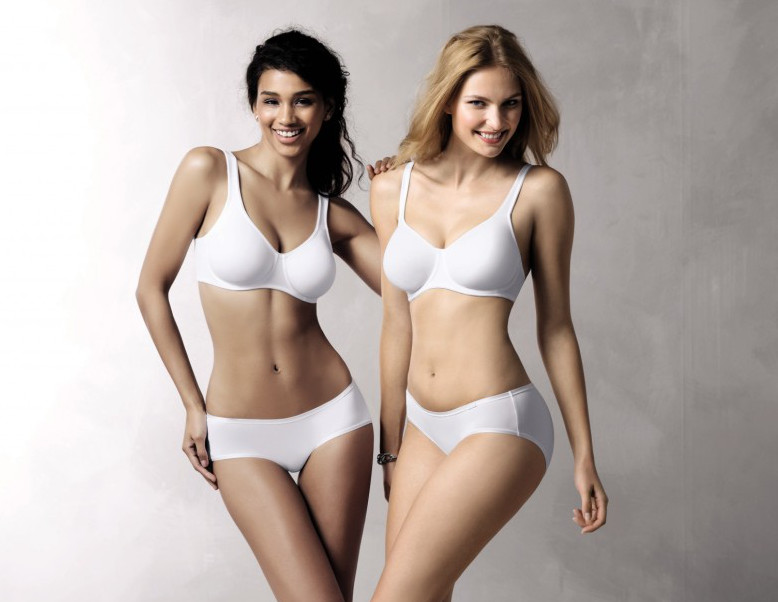 Extremely comfortable white tshirt bras wire free and with underwire