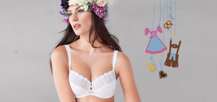 The ideal bra from Rosa faia to form the perfect cleavage under any dirndl dress