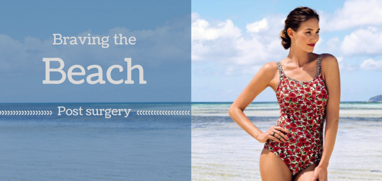 Anita post surgical swimaera help women affetced with breast cancer to feel confident wearing a breast form at the beach