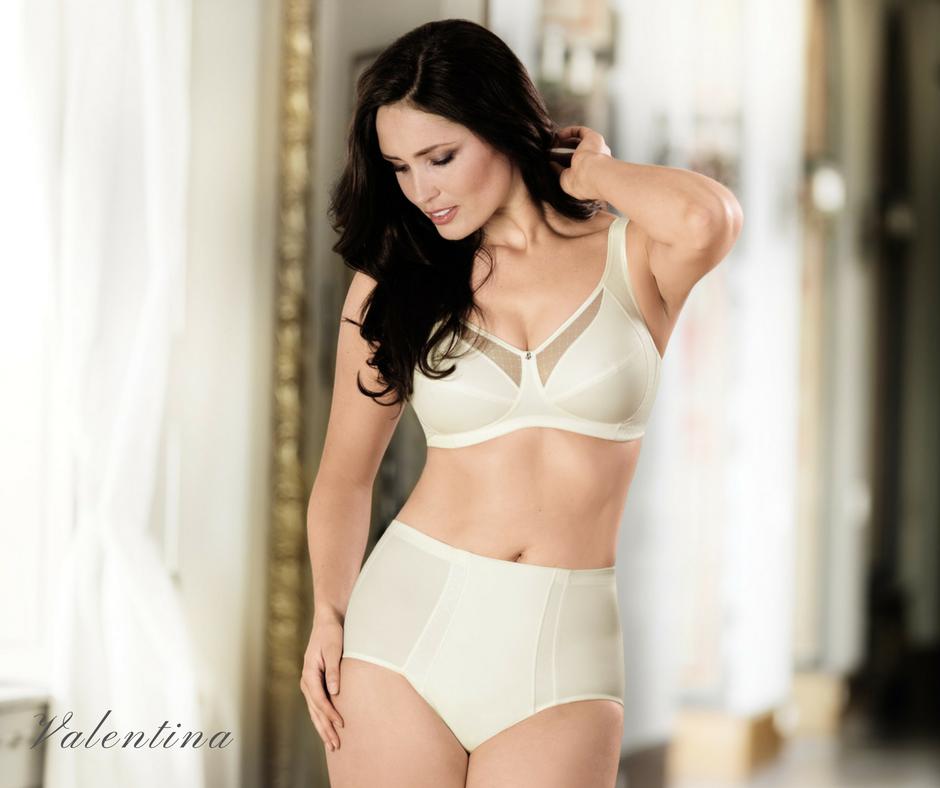 White comfort bra from Anita for plus sizes