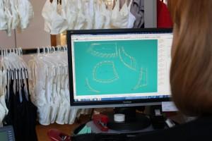 Computer designed bras